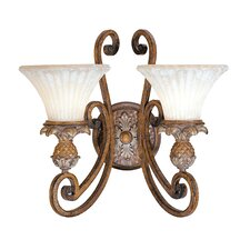 Savannah 2 Light Wall Sconce