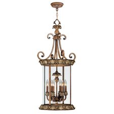 <strong>Livex Lighting</strong> Savannah 6 Light Foyer Pendant