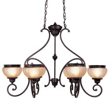 <strong>Livex Lighting</strong> Aladdin 6 Light Chandelier