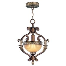 Seville 1 Light Convertible Inverted Pendant