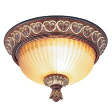 <strong>Livex Lighting</strong> Villa Verona Flush Mount
