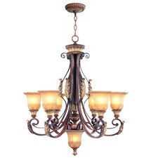 <strong>Livex Lighting</strong> Villa Verona 7 Light Chandelier