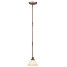 <strong>Livex Lighting</strong> Sovereign 1 Light Mini Pendant