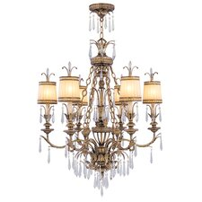La Bella 6 Light Chandelier