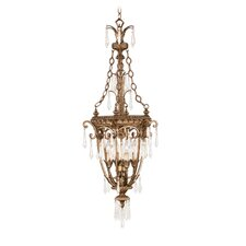 La Bella 4 Light Foyer Pendant