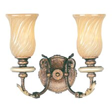 <strong>Livex Lighting</strong> Bristol Manor 2 Light Vanity Light