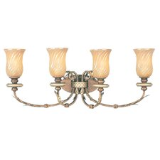 Bristol Manor 4 Light Vanity Light