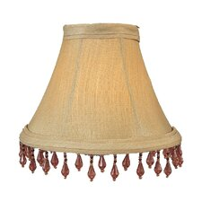 "6"" Silk Bell Chandelier Shade"