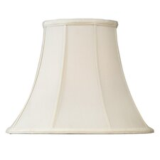 <strong>Livex Lighting</strong> Shantung Silk Bell Lamp Shade in Off White