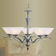 <strong>Livex Lighting</strong> Nouveau 5 Light Chandelier