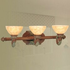 <strong>Livex Lighting</strong> Salerno 3 Light Vanity Light