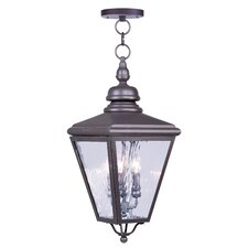 Cambridge 4 Light Outdoor Hanging Lantern