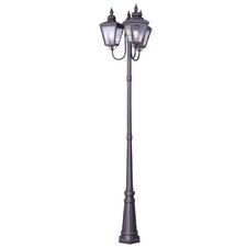 "Cambridge 3 Light 100"" Outdoor Post Lantern Set"