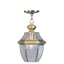 Monterey 1 Light Outdoor Hanging Lantern