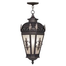 Berkshire 3 Light Outdoor Hanging Lantern