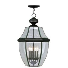 Monterey 4 Light Outdoor Hanging Lantern