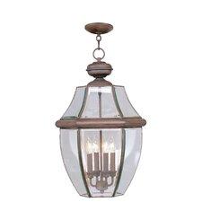 Monterey 4 Light Outdoor Hanging Lantern