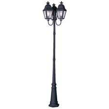 "<strong>Livex Lighting</strong> Amwell 3 Light 98.5"" Outdoor Post Lantern Set"