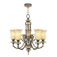 <strong>Livex Lighting</strong> Bristol Manor 5 Light Chandelier