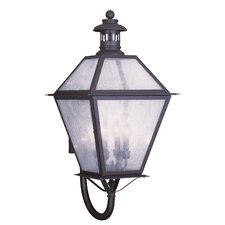 <strong>Livex Lighting</strong> Waldwick 4 Light Outdoor Wall Lantern