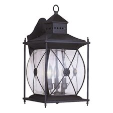 Providence Three Light Outdoor Wall Lantern