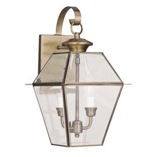 Westover 2 Light Outdoor Wall Lantern