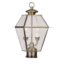 <strong>Livex Lighting</strong> Westover 2 Light Outdoor Post Lantern