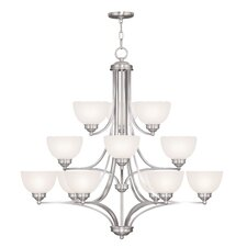 <strong>Livex Lighting</strong> Somerset 12 Light Chandelier