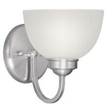 <strong>Livex Lighting</strong> Somerset 1 Light Wall Sconce