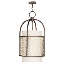 <strong>Livex Lighting</strong> Avalon 4 Light Foyer Pendant