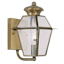 Westover 1 Light Outdoor Wall Lighting