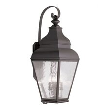 Exeter 4 Light Outdoor Wall Lantern