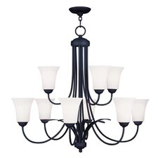Ridgedale 9 Light Chandelier