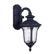 <strong>Livex Lighting</strong> Oxford 1 Light Outdoor Wall Lantern