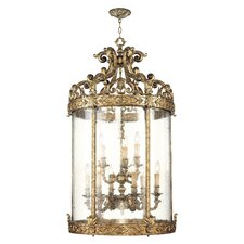 <strong>Livex Lighting</strong> Chateau 9 Light Foyer Pendant