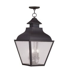 <strong>Livex Lighting</strong> Vernon 4 Light Outdoor Hanging Lantern