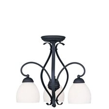 Brookside 3 Light Convertible Pendant
