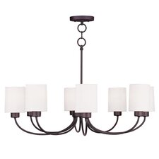 Sussex 8 Light Convertible  Chandelier