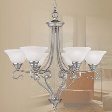 Coronado 6 Light Chandelier