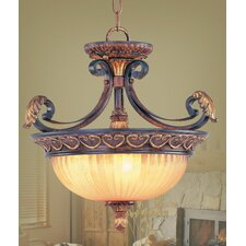 <strong>Livex Lighting</strong> Villa Verona Convertible Inverted Pendant