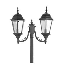 Hamilton 2 Light Outdoor Post Lantern