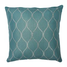 Darcy Diamond Pillow Feather Fill with Self Welt