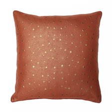 Trixie All Over Nailhead Pillow Feather Fill with Self Welt