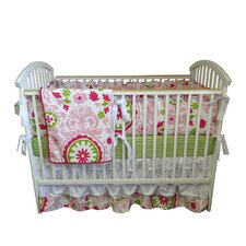 Sasha 4 Piece Crib Bedding Set