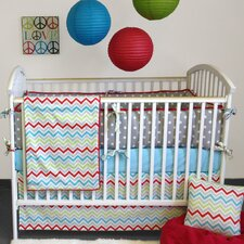 Calypso 4 Piece Crib Bedding Collection
