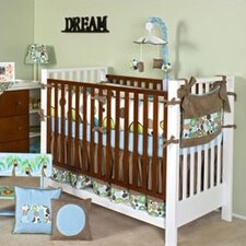Bam Bam 3 Piece Crib Bedding Set with Mobile