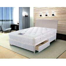 Cool Comfort Memory Foam Pocket Sprung 1400 Mattress