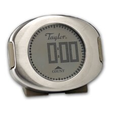 <strong>Taylor</strong> Connoisseur Digital Stainless Steel Timer and Clock