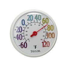 "<strong>Taylor</strong> 13.5"" Color Dial Thermometer"
