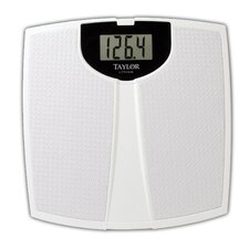 Digital Bath Scale with White Platform